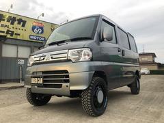 ミニキャブバンCL  リフトアップ マッドタイヤ 4WD