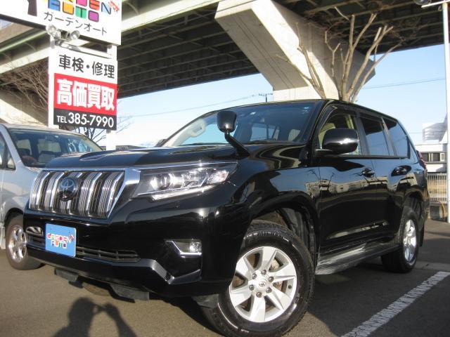 トヨタ ランドクルーザープラド TX 軽油 7人 トヨタセフテーセンス