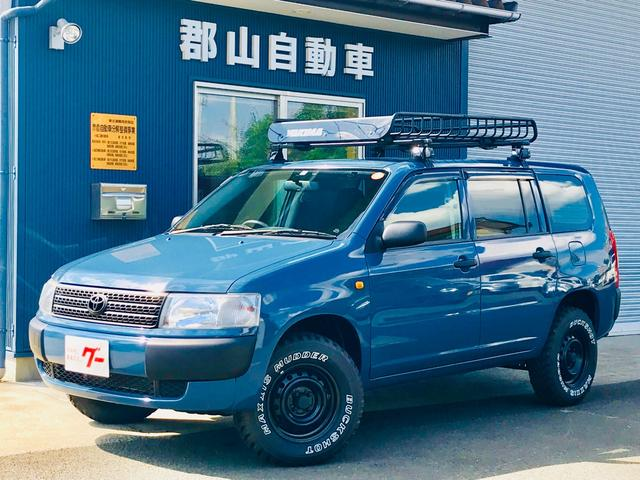 トヨタ DXコンフォートパッケージ アルルブルー リフトアップ 四駆