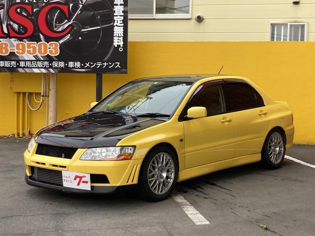 三菱 GSRエボリューションVII 4WD 5速マニュアル インタークーラーターボ CD キーレスエントリー 社外足廻り HIDヘッドライト レカロシート