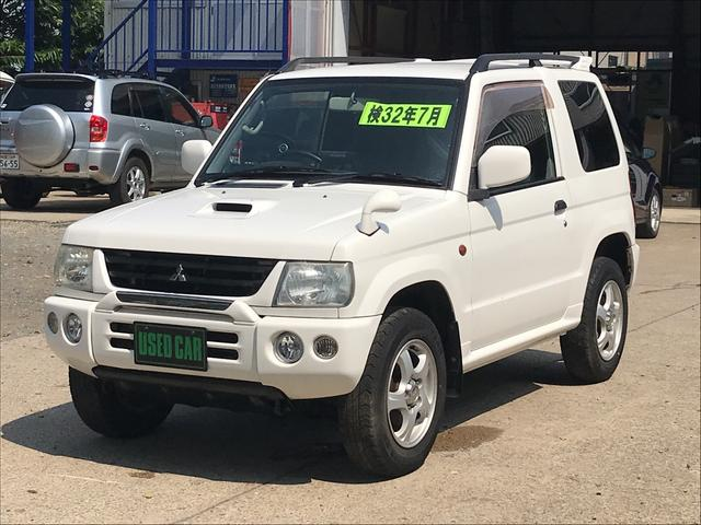 三菱 V 4WD ターボ 社外HDDナビ トランスファ付 キーレス