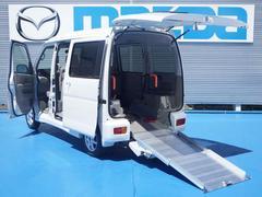 アトレーワゴンスローパー4WD 車イス用スロープ 車イス固定装置