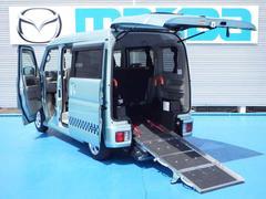 エブリイワゴンウィズシリーズ 車イス移動車 分割リアシート4WD