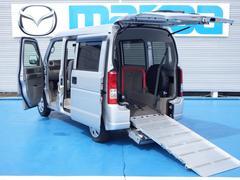 エブリイ4WD 福祉車両 車椅子用スロープ リモコン付き電動ウインチ