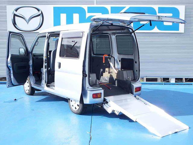 ダイハツ 4WD 福祉車両 ウェルキャブ 社外ナビ CD キーレス