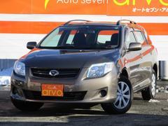 カローラフィールダーX 4WD ナビ 1年間距離無制限保証付き