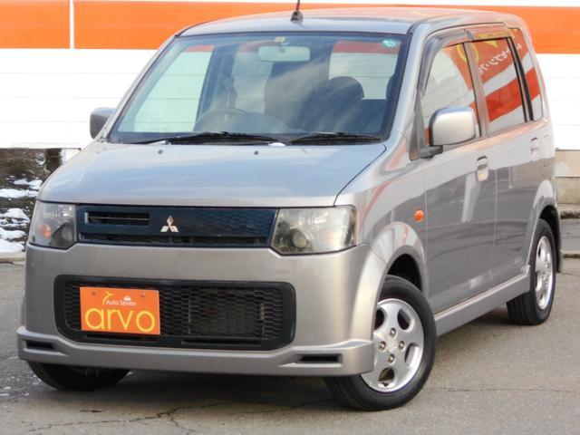 三菱 X 4WD ターボ HID 1年間走行距離無制限保証付き