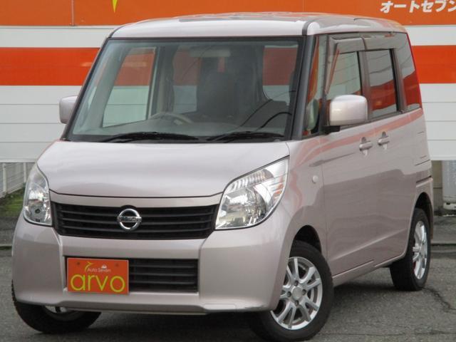 日産 ルークス E  1年間走行距離無制限保証付き (車検整備付)