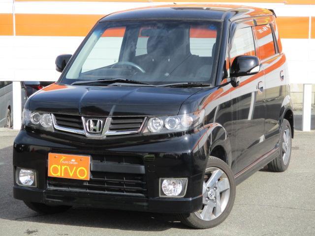 ホンダ Wターボ 4WD 一年間走行距離無制限保証付き
