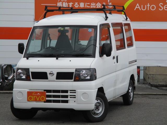 日産 4WD ルーフキャリア 5速MT 1年間保証付