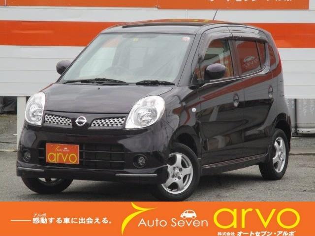 日産 モコ E ショコラティエ エアロスタイル スマートキー オートライト フォグランプ CD