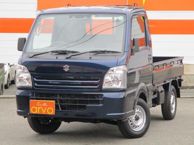 スズキ キャリイトラック KCエアコン・パワステ農繁仕様 4WD/スズキセーフティサポート搭載/5速マニュアル