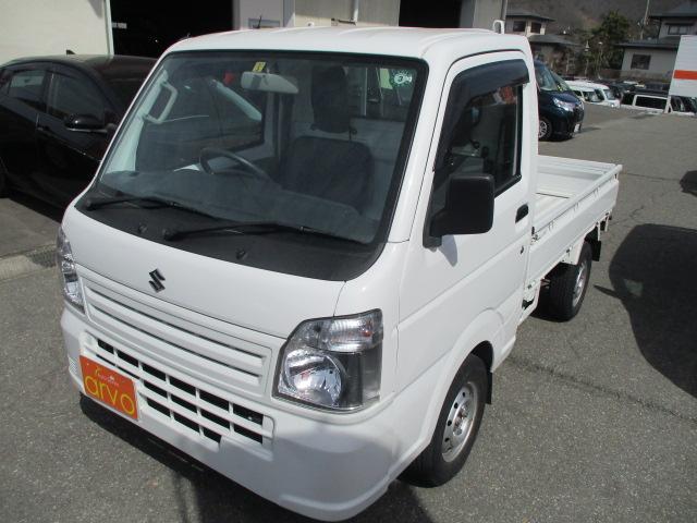 スズキ KCエアコン・パワステ 4WD/切替4WD/エアコン/パワステ/AT