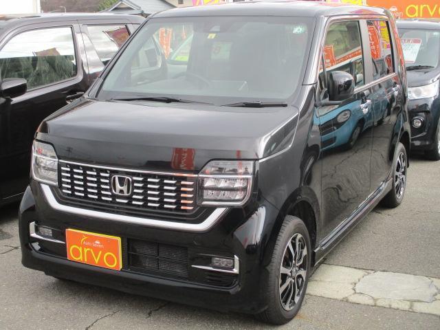 ホンダ N-WGNカスタム Lホンダセンシング 4WD/ナビ/シートヒーター/ETC
