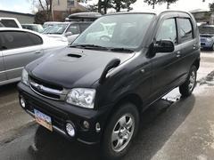 テリオスキッドL 4WD ターボ 純正CD 背面タイヤ