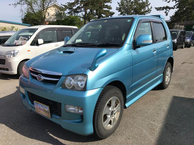 ダイハツ テリオスキッド カスタムX 4WD ターボ 社外CDMD オートマ