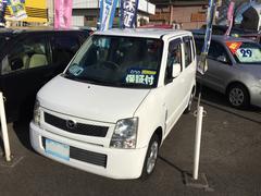 AZワゴンFX 4WD 社外アルミホイール 純正オーディオ キーレス