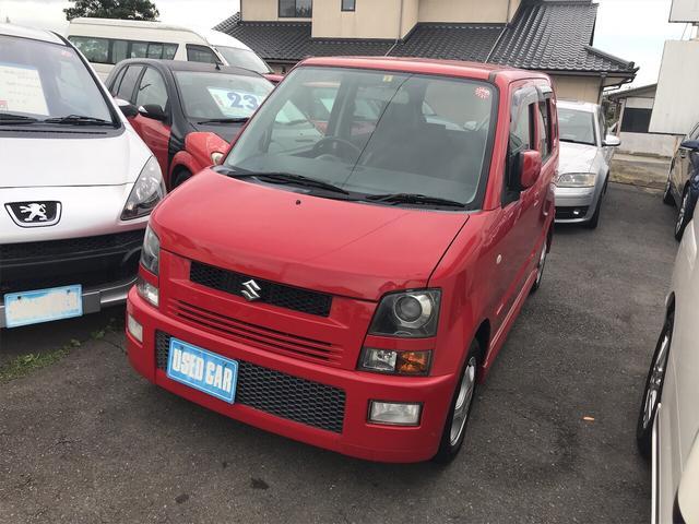 スズキ ワゴンR RR-DI 4WD 軽自動車 ブライトレッド2 AT AC