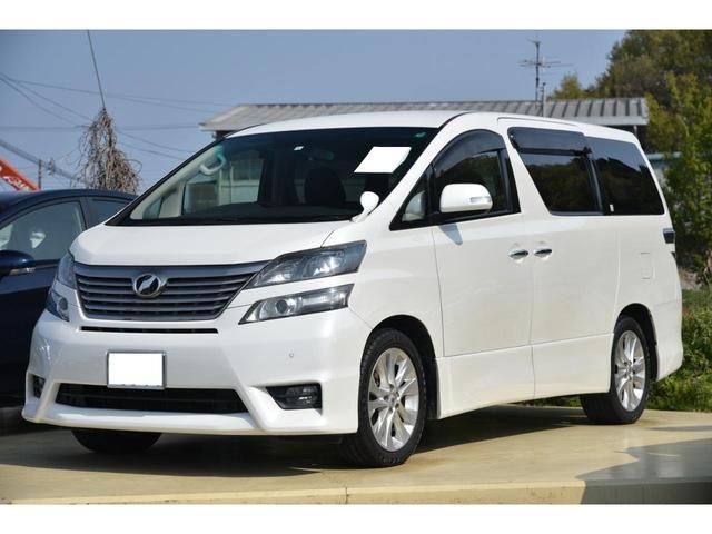 トヨタ 2.4Z プラチナムセレクション 純正ナビ フリップダウン