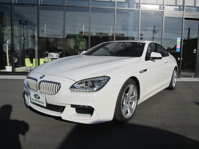 BMW 6シリーズ 650iクーペ 黒革シート・サンルーフ・HDDナビ・TVバックカメラ・純正19アルミ