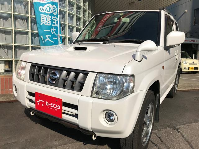 日産 RX /M/T・4WD・ターボ・社外HDDナビ・Bカメラ・キーレス(スペア有)・ETC・ターボタイマー・シートヒーター・Bluetoothオーディオ/
