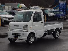 キャリイトラックKC 4WD 5速マニュアル エアコン パワステ 3方開