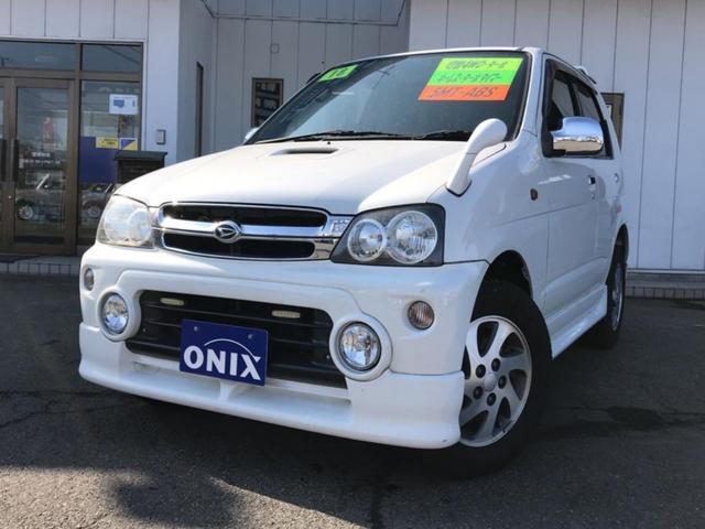 ダイハツ キスマークX 軽自動車 4WD ホワイト MT ターボ