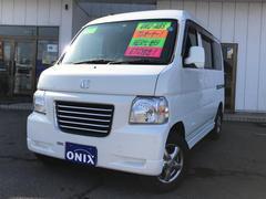 バモスホビオG TV ナビ 軽自動車 ETC 4WD ホワイト AT