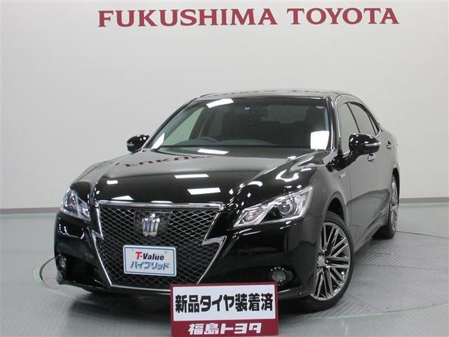 トヨタ アスリートS Four 4WD バックモニター HDDナビ
