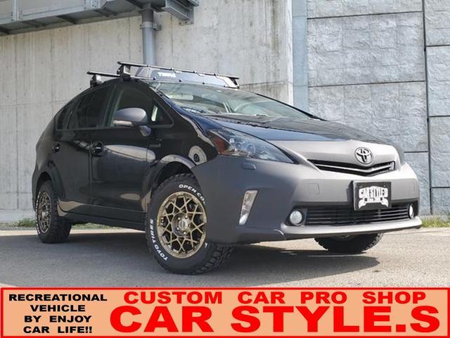 トヨタ  新品リフトアップ ラプターライナー施工車 新品BRUTホイール 新品マッドタイヤ ヘッドライト純正加工