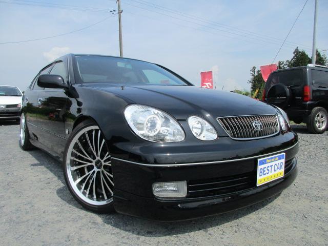 トヨタ S300ベルテックスエディション 黒革 車高調