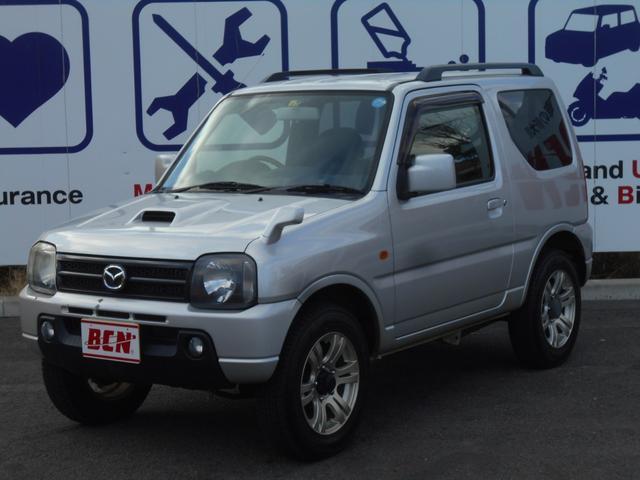 マツダ XC 4WD 16インチアルミ