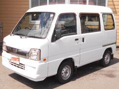 サンバーバンディアス キーレス パワステ 4WD