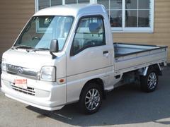 サンバートラックハイルーフ キーレス 4WD SDナビ フルセグTV