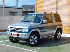 パジェロミニXR 純正CDMDデッキ フォグランプ 社外アルミ 4WD
