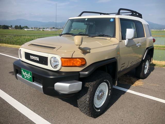 トヨタ 4WD ベージュ リフトアップ 右ハンドル ナビ 地デジ