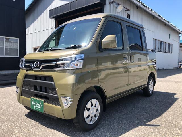 ダイハツ  デッキバン SAIII 4WD AT オフビートカーキ 登録済未使用車