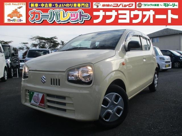 スズキ L 4WD デュアルセンサーB セキュリティ アイドルストップ シートヒーター付 キ-レス PW