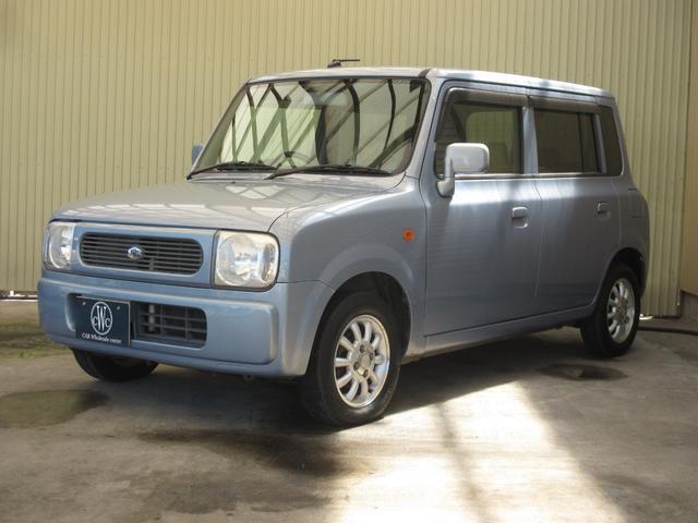 スズキ X 4WD シート・ミラーヒーター ETC 純正13インチアルミホイール 純正CD・MD キーレス