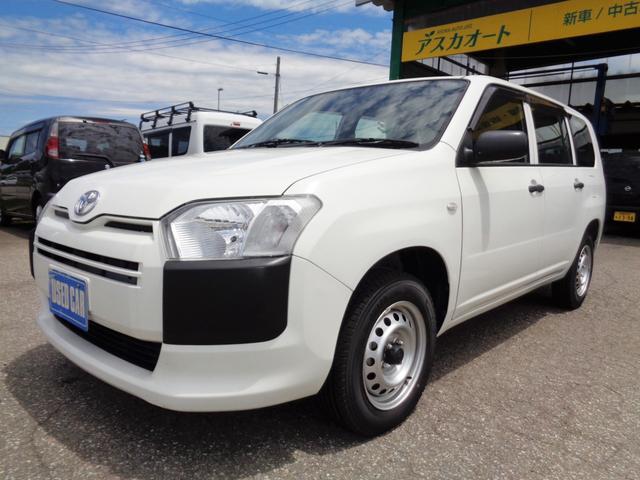 トヨタ プロボックス DXコンフォート 4WD キーレス Wエアバッグ ETC 運転席パワーウインドウ