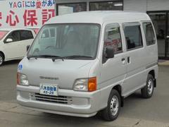 サンバーバン福祉車両 4WD リフト付 パワステ エアコン ラジオ