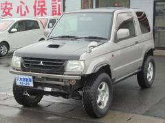 パジェロミニV ヒッチメンバー付 リフトUP ターボ 4WD