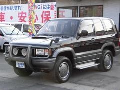 ビッグホーンイルムシャー ショート サンルーフ エアコン 4WD