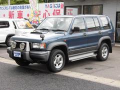 ビッグホーンXSプレジールII  ワンオーナー パワステ 4WD