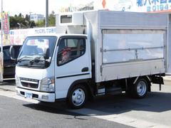 キャンター冷蔵冷凍車 ABS PS AC エアB ラジオ
