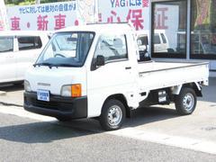 サンバートラックTB エアコン エアバック 5速マニュアル 4WD