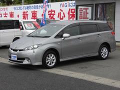 ウィッシュ1.8S 純正ナビ TV ETC ワンオーナー 4WD