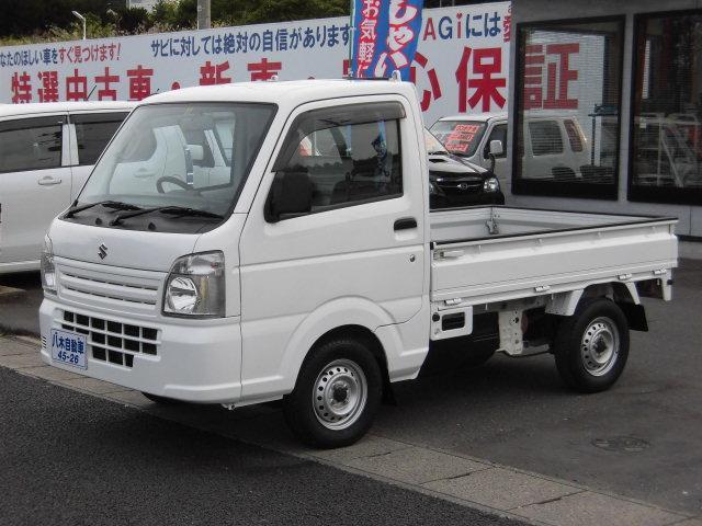 スズキ KCエアコン・パワステ 社外ナビ TV CD 4WD