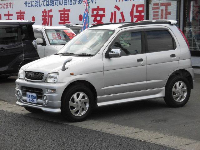 ダイハツ カスタム Sエディション エアロキット付 CD MD 4WD