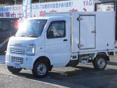 キャリイトラック保冷車 エアコン パワステ ラジオ 4WD